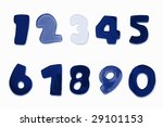 alphabet from a to z and... | Shutterstock . vector #29101153