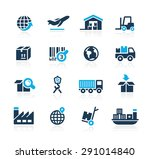 industry and logistics    azure ... | Shutterstock .eps vector #291014840