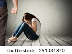 physical  pain  pressure. | Shutterstock . vector #291031820