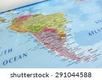 South America Geographical View Geographical - Fine Art prints