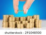 loan  profit  rate. | Shutterstock . vector #291048500