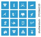 set of sixteen sport icon | Shutterstock .eps vector #291066110