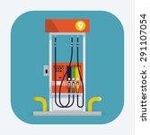 modern flat design vector web... | Shutterstock .eps vector #291107054
