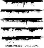 grunge detail   ideal for use... | Shutterstock .eps vector #29110891