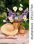 Summer Flowers Bouquet With...