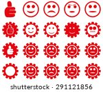settings and smile gears icons. ... | Shutterstock .eps vector #291121856