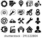 settings and tools icons....