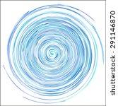 spiral design element | Shutterstock .eps vector #291146870
