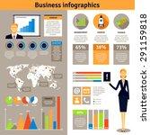 new business successful start... | Shutterstock .eps vector #291159818