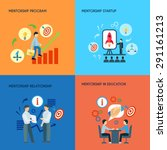 business public relations in... | Shutterstock .eps vector #291161213