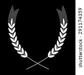 wheat vector icon  | Shutterstock .eps vector #291174359