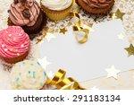 Birthday  Cupcake  Invitation.