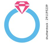 diamond ring icon from commerce ... | Shutterstock . vector #291195239