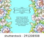 spring delight collection.... | Shutterstock .eps vector #291208508