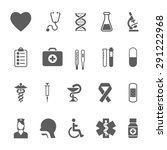 healthcare and medical icons. | Shutterstock . vector #291222968