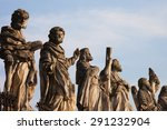 Sculptures Of Saints At Church...