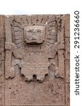 Viracocha Image In The Gate Of...