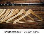 clothes hanger  | Shutterstock . vector #291244343