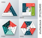 vector triangle  square ... | Shutterstock .eps vector #291256400