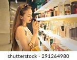 Classy Woman Choosing A Perfume