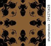 circular seamless  pattern of ... | Shutterstock .eps vector #291271628