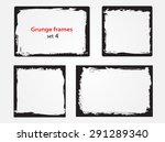 grunge frame.grunge background... | Shutterstock .eps vector #291289340