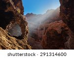 famous canyon masca at tenerife ... | Shutterstock . vector #291314600