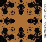 circular seamless  pattern of ... | Shutterstock .eps vector #291319394