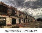 Decayed Brick Facade