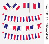french buntings garlands... | Shutterstock .eps vector #291332798