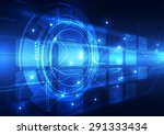 vector digital technology... | Shutterstock .eps vector #291333434