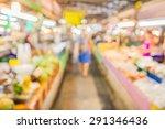 image of blur thailand market... | Shutterstock . vector #291346436