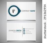 modern creative design simple... | Shutterstock .eps vector #291362954
