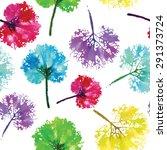 crazy beautiful imprint... | Shutterstock .eps vector #291373724