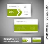 business card. | Shutterstock .eps vector #291387254