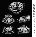 vintage label vector set.... | Shutterstock .eps vector #291388133