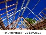 new residential construction... | Shutterstock . vector #291392828