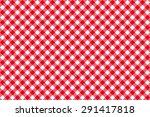 Diagonal Red Tablecloth...