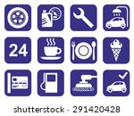 icons car service  car wash ... | Shutterstock .eps vector #291420428