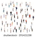 people diversity office culture  | Shutterstock . vector #291421238