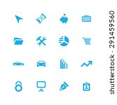 company icons universal set for ... | Shutterstock .eps vector #291459560