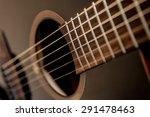 Acoustic Guitar. Strings....