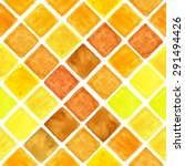 watercolor geometric seamless... | Shutterstock .eps vector #291494426