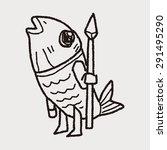 monster doodle   Shutterstock .eps vector #291495290