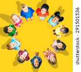 kids children group concept | Shutterstock . vector #291501536