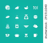 cooking icons universal set for ... | Shutterstock .eps vector #291511040
