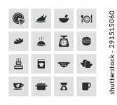 cooking icons universal set for ... | Shutterstock .eps vector #291515060