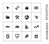 company icons universal set for ... | Shutterstock .eps vector #291515714
