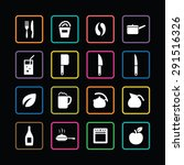 cooking icons universal set for ...   Shutterstock .eps vector #291516326