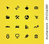 company icons universal set for ... | Shutterstock .eps vector #291516380